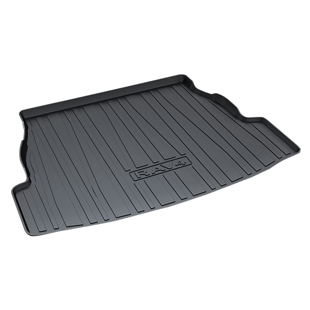 For 2019 2020 Toyota RAV4 Trunk Cargo Liner Floor Mat All Weather Rubber Black