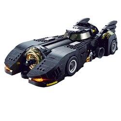 Decool 7144 Technic De Ultieme Batmobile Compatibel Auto Set Bulding Blokken MOC-15506 DC Super Heroes Bricks Speelgoed Voor Kinderen