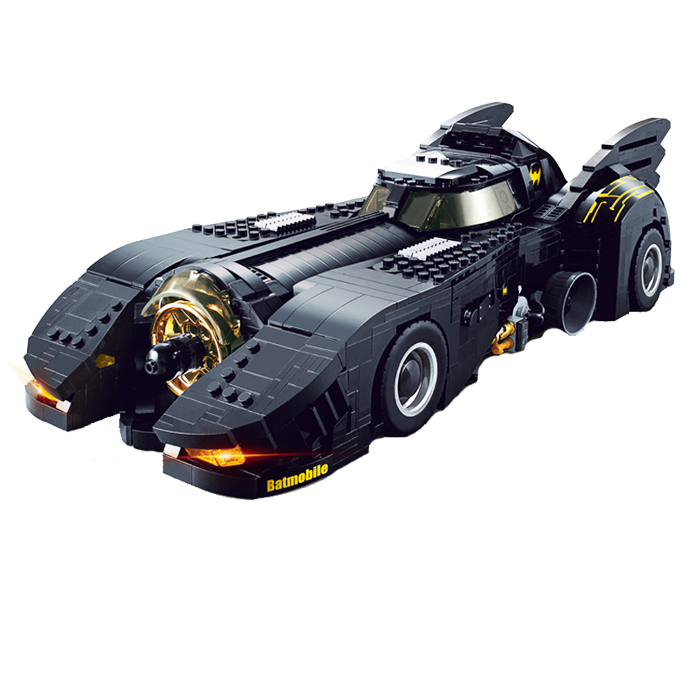 Decool 7144 Technic The Ultimate Batmobile Car Set Bulding Blocks MOC-15506 DC Super Heroes Bricks Toys For Children