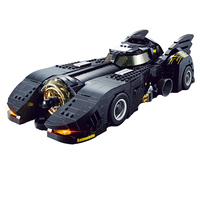 Decool 7144 Technic The Ultimate Batmobile Compatible Car Set Bulding Blocks MOC 15506 DC Super Heroes Bricks Toys For Children