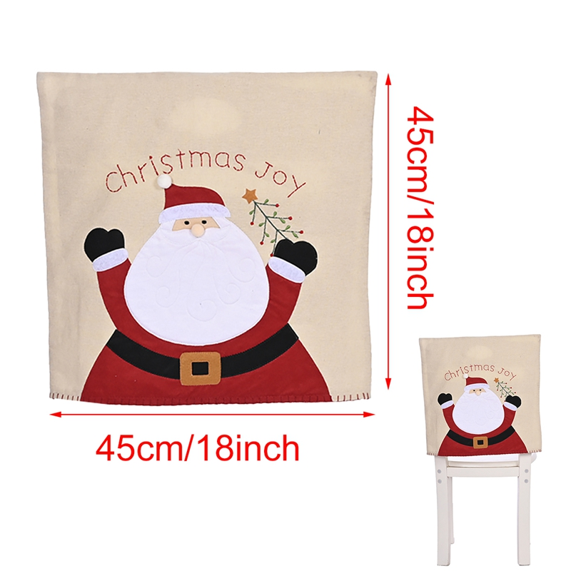 Cute Christmas Chair Covers and Table Runners