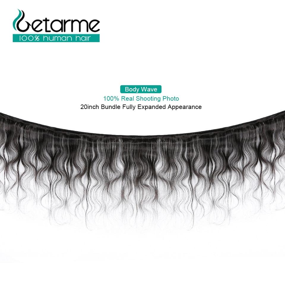 Getarme Hair Brazilian Hair Weave Bundles Body Wave 100% Human Hair 3 Bundles Human Hair Extensions Remy Meche Bresilienne