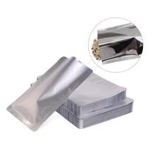 100 шт вакуумные упаковочные пакеты алюминиевые мешки из фольги для еды сумка для хранения образцов герметичная упаковка для хранения кухонные принадлежности