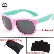 Children Polarized Sunglasses Girl Baby Black Glasses Boy 1.5-15 Years Child