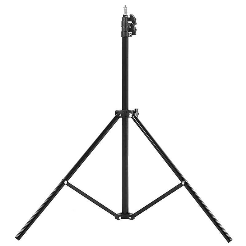 Fotografia 2 m/6.5FT lekki statyw do pierścienia światła statyw aluminiowy uchwyt dla Photo Studio wideo z kamery Softbox parasol 3KG