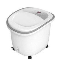 Mirror touch screen foot bath increases deepens fully automatic massage barrel precise temperature control health bucket
