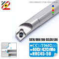 95 Degree Internal Tool Holder S07K S08K S10K SCLCR06 SCLCL06 CNC Spiral Turning Tools Lathe Boring Bar CCMT060204 Carbide Knife