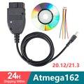 VAG COM 20.4 VAGCOM 20.4.2 HEX CAN USB Interface FOR VW AUDI Skoda Seat VAG 19.6 Multi-Language ATMEGA162+16V8+FT232RL