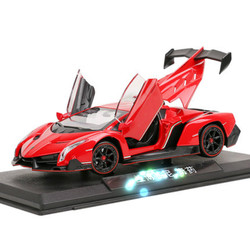 1:24 simulation Lamborsports car model alloy toy can open the door sliding falling Diecasts collection gift childrens toy
