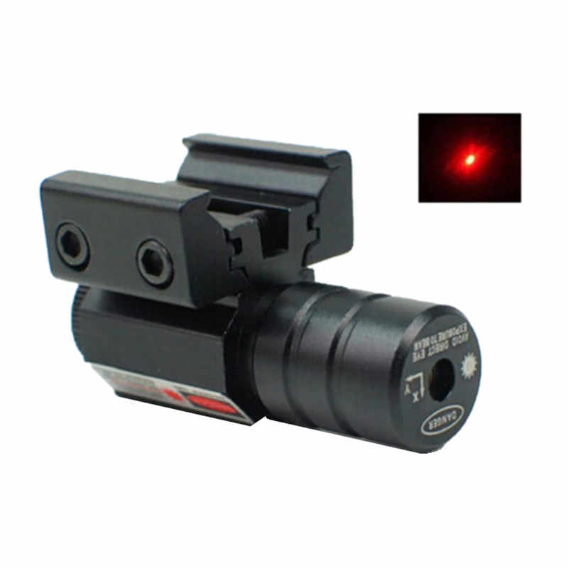 50-100M Bereik 635-655nm Red Dot Laser Zicht Pistool Verstelbare 11 Mm 20 Mm Picatinny Rail Jacht Accessoire nieuwe
