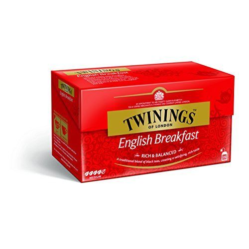 Twinings Classics English Breakfast Tea (25 Tea Bags 50G / 1.8Oz.)