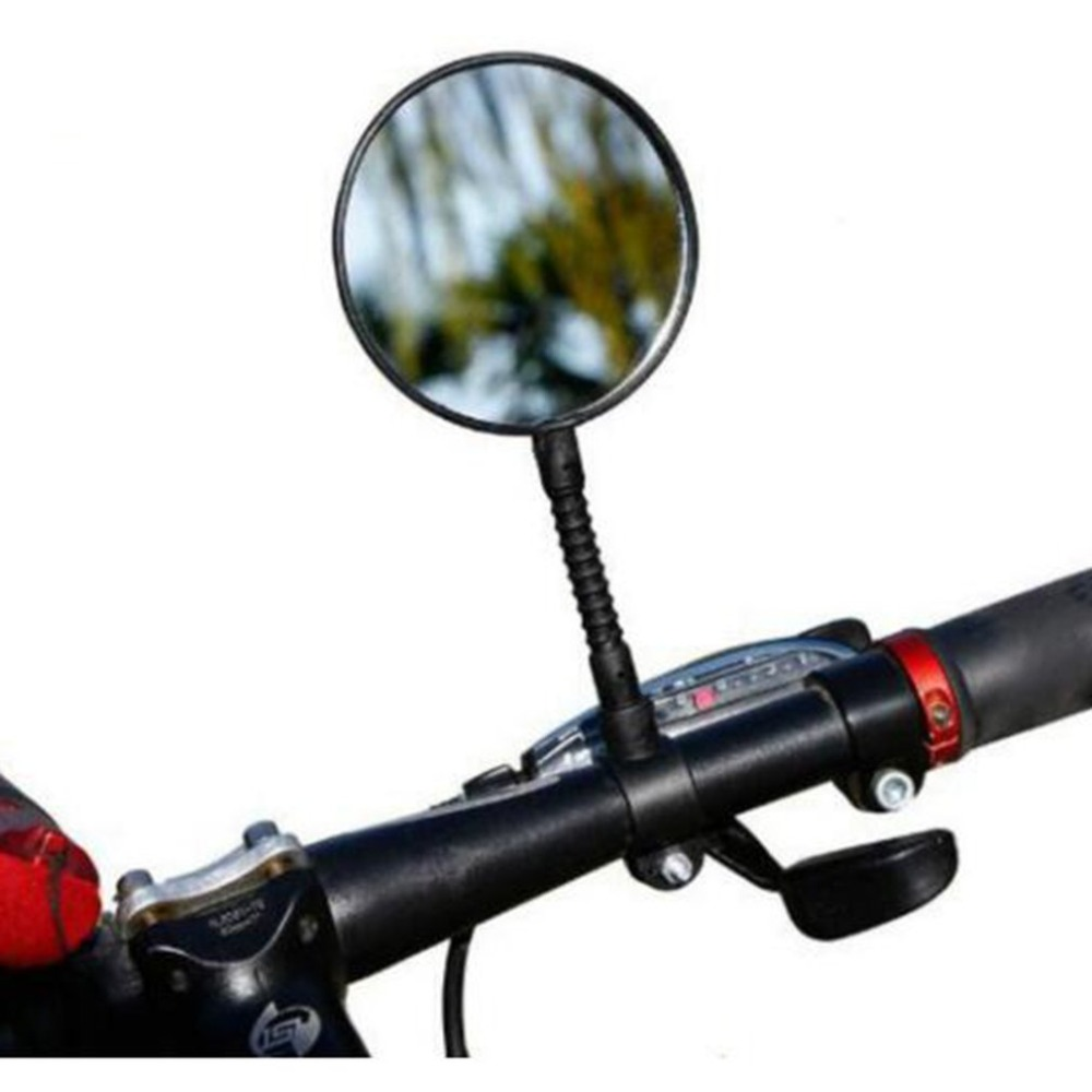 Adjustable Rotatable Easy Install Cycling Mountain Road Bike Motorcycle Bicycle Rear View Mirror Handlebar Rearview Mirror