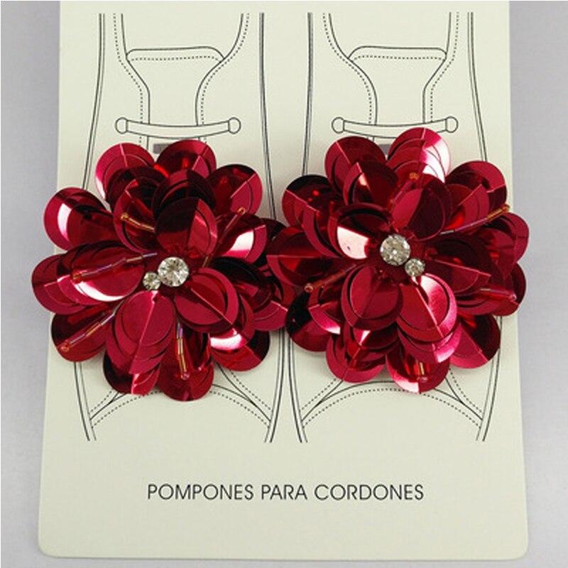 2Pcs Decorations Shoes Clips Shoes Accessories Women Elegant Shoe Buckles Ornament Clip Shoe Decorations