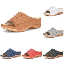 Comfy Platform Flat Sole Ladies Casual Soft Big Toe Foot Correction Sandal Orthopedic Bunion Corrector Women Shoes Slipper