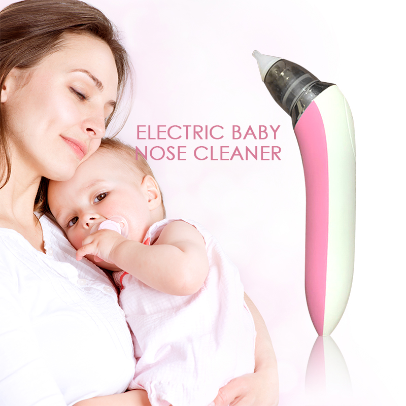 Baby Nasal Aspirator Infant Newborn Baby Clean Snot Electric Nose Cleaner Sniffling Equipment Safe Hygienic For Baby Toddler