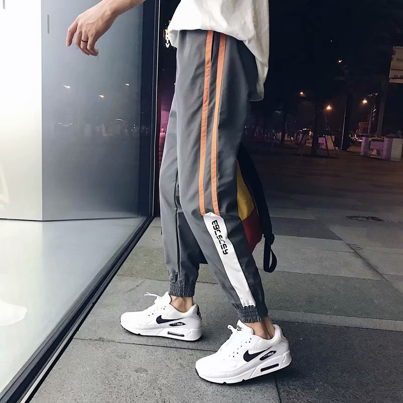 Autumn Fashion Men 39 s Pants Harem Pants Men Pants Hip Hop Casual Pants Joggers Male Sweatpants in Skinny Pants from Men 39 s Clothing