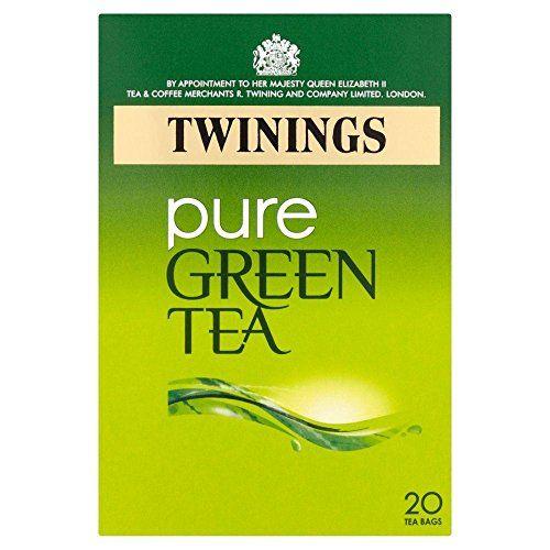 Twinings - Thé Vert Nature - Lot De 2 Boîtes De 20 Sachets