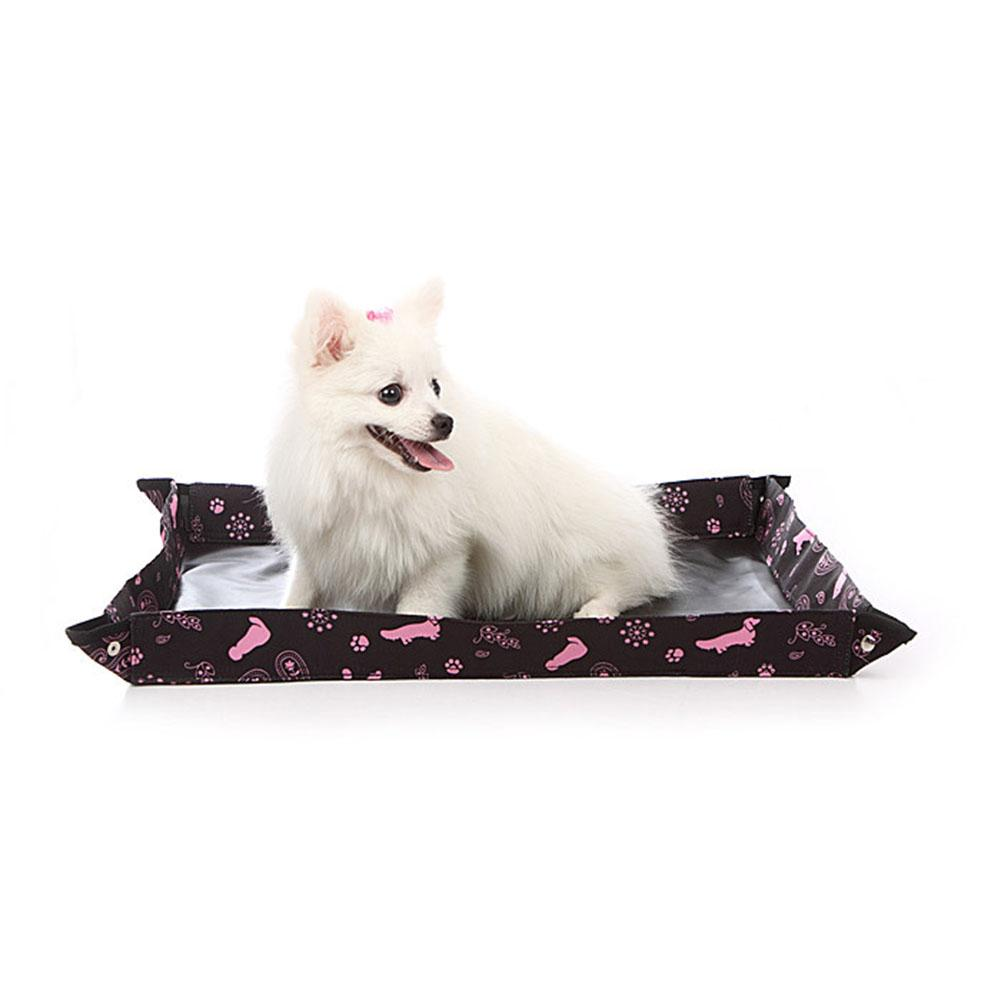 Foldable Pet Toilet Oxford Cloth Waterproof Fabric Dogs& Cats Toilet Training Pads Pet Bathroom-30