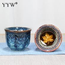 Ceramics Ice Cracked Glaze Cup Chinese Tea Cup Porcelain Tea Bowl for Puer Kung Fu Tea Set Accessories Drinkware Chinese Gift стоимость