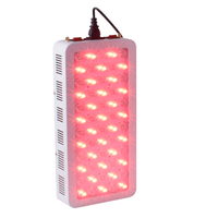 Switchable 300W LED Red Therapy Light Deep Red 660nm and Infrared 850nm Therapy Red Lamp for Skin care and Pain