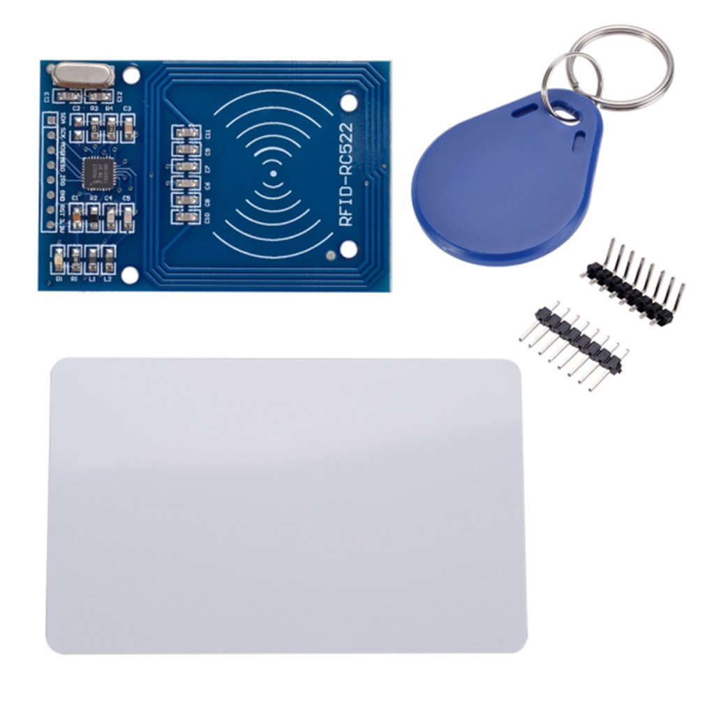 1PCS RC522 Card Read Antenna RF RFID Reader IC Card Proximity Module MFRC-522 + Key Mini Board High Performance