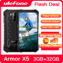Ulefone Armor X5 Rugged Smartphone Android 10 Octa core NFC IP68 3GB 32GB 5000mAh Cell Phone 4G LTE Waterproof Mobile Phone
