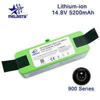 5.2Ah 14.8V akumulator litowo-jonowy akumulator do iRobot Roomba 900 800 700 600 serii 500 960 980 981 530 560 620 650 770 780 870 z ogniwami marki