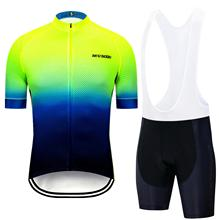 2019 3D Jersey Suit Men Team Cycling Bib Shorts Pro Set Breathable Mens Kits maillots ciclismo ho