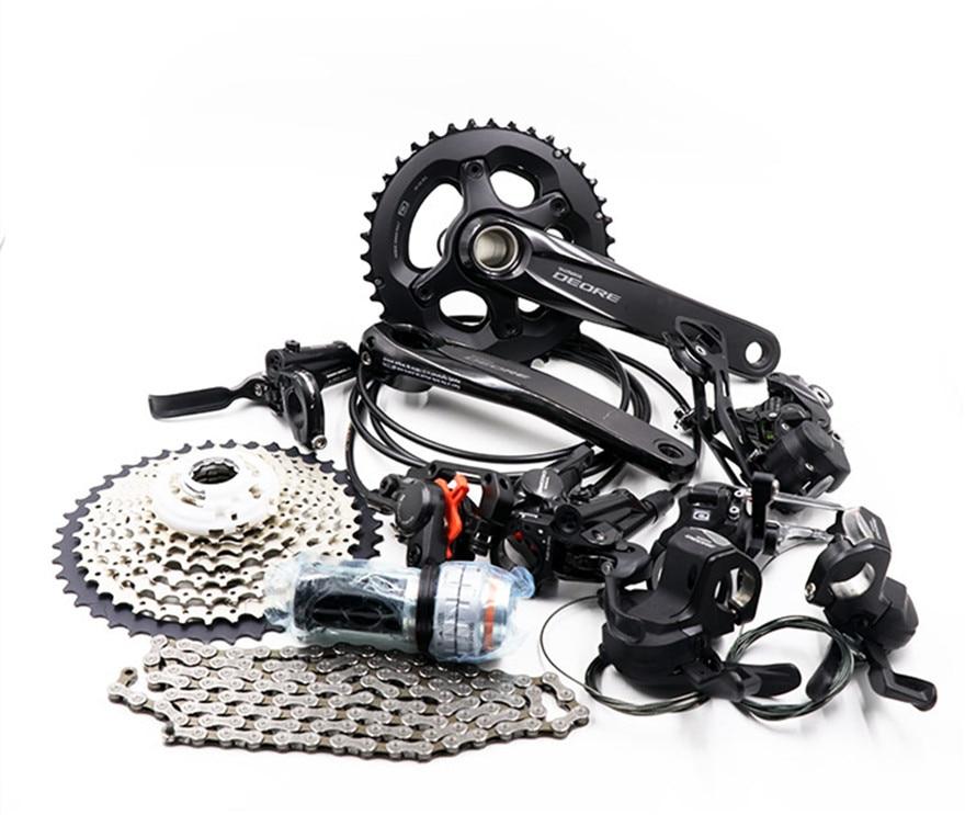 SHIMANO   DEORE M6000 2x10S 3x10S 20/30 Speed Groupset  group set MTB Mountain Bike Derailleurs BB crankset  bicycle kitbike derailleurmountain bike derailleurgroup set -