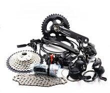 SHIMANO kit de cambio de velocidades DEORE M6000, 2x10S, 3x10S, 20/30, para bicicleta de montaña y BB, kit de bielas