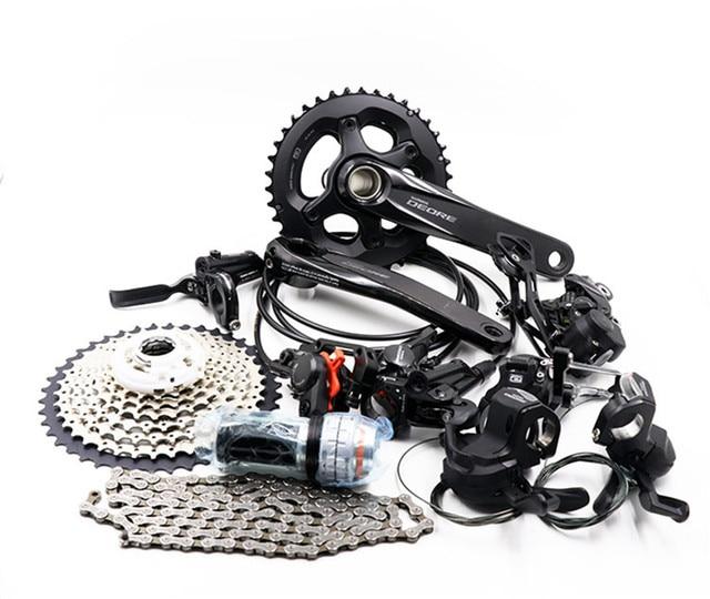 Shimano Deore M6000 2X10S 3X10S 20/30 Speed Groepset Groep Set Mtb Mountainbike Derailleurs bb Crankstel Fiets Kit