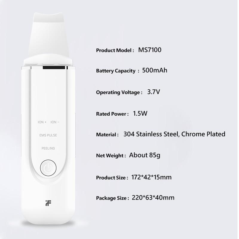 InFace ultrazvočno čistilno sredstvo za čiščenje kože obraza - Orodja za nego kože - Fotografija 5