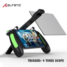 Pubg Mobile Gamepad Screen Magnifier Trigger Free Fire Joystick Gaming