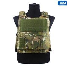 JPC armadura de cuerpo táctico de caza, chaleco portador de placa Molle, juego CS al aire libre, chaleco Airsoft de Paintball, equipo militar