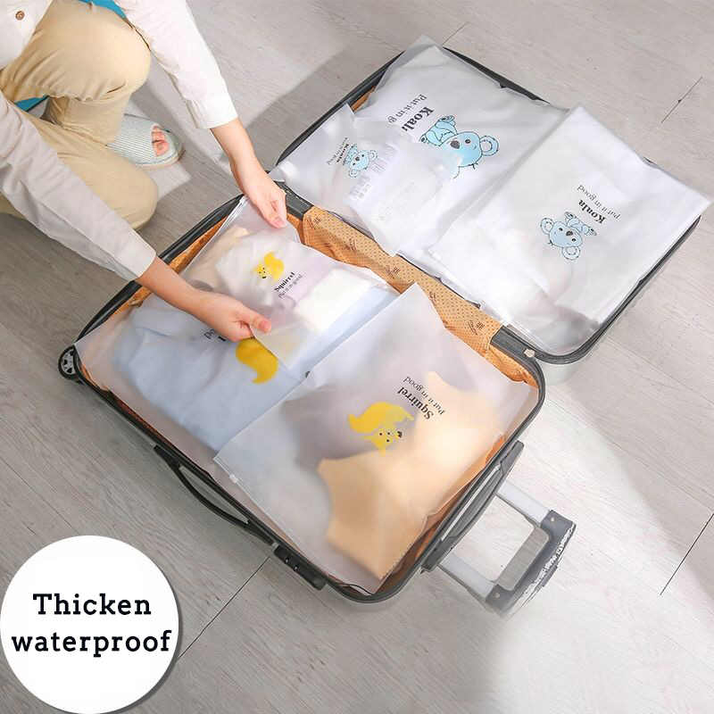 Haoyunqi旅行ポータブル服靴下バギーバッグ防水荷物下着サブパッケージ服防塵sortingorganizerバッグ