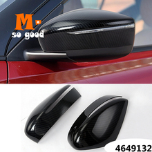 2015 2020 Accessories Car Side Door Rearview Mirror Decoration Cover Trim Styling ABS Chrome/ Carbon Fiber for Nissan Versa