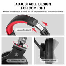 Oneodio Fusion Professional Wired Studio DJ Headphones + Wireless Bluetooth 4.0 Headset HIFI Stereo Monitor Headphone With Mic