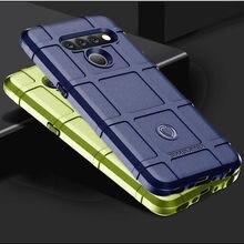 Противоударный чехол для LG V50 V50S V60 V40 ThinQ силиконовый защитный чехол для мобильного телефона в военном стиле для LG V30S V30 V35 ThinQ