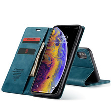 Retro Leather Flip Case For iPhone 6s 7 8 Luxury Magnetic Card Holder Wallet Cover Case For iPhone X XS Max XR 8 7 6s Plus Hoes цена и фото
