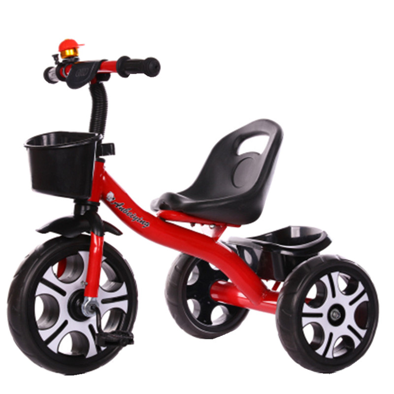 Children Bicycle Stroller 12 Inches Bicycle Child Tricycle Toy 1-6 Years Old Children Toy Walker Necessary for Outdoor Cycling