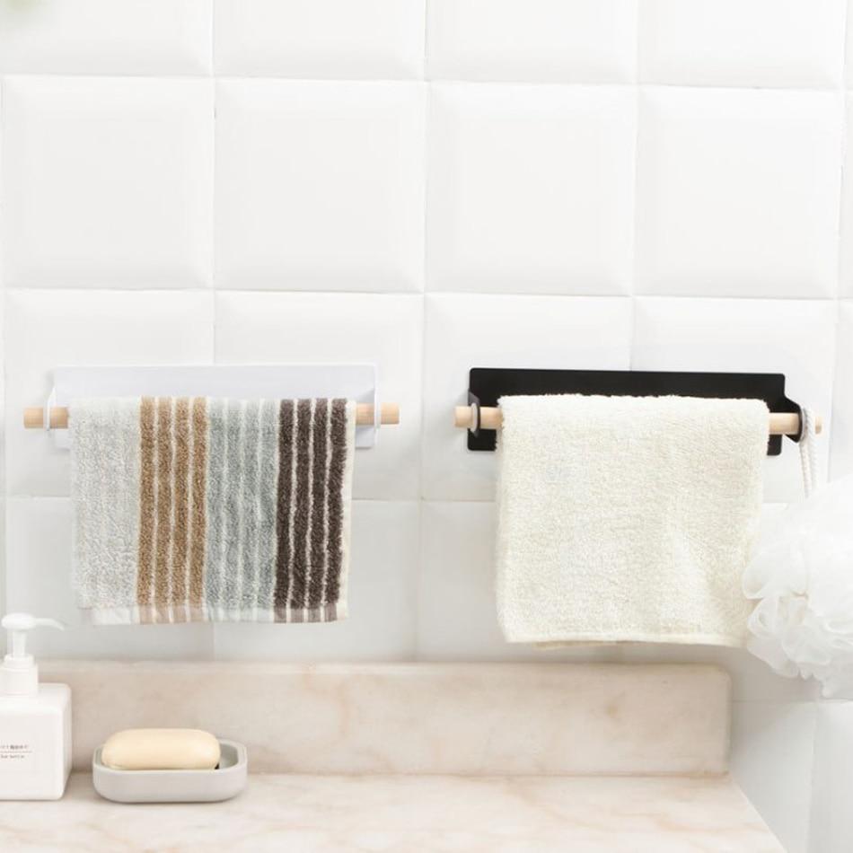 1pc Bathroom Toilet Paper Holder Stainless Steel WateProof Bathroom Accessories Kitchen Wall Mounted Toilet Roll Towel Shelf