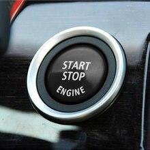 Кнопка включения и остановки двигателя автомобиля 3*3 см для