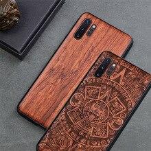 Capa de telefone para samsung galaxy note 10 note 9, capa de telefone original boogic madeira tpu para samsung s10 s20 note 10 acessórios mais para celular