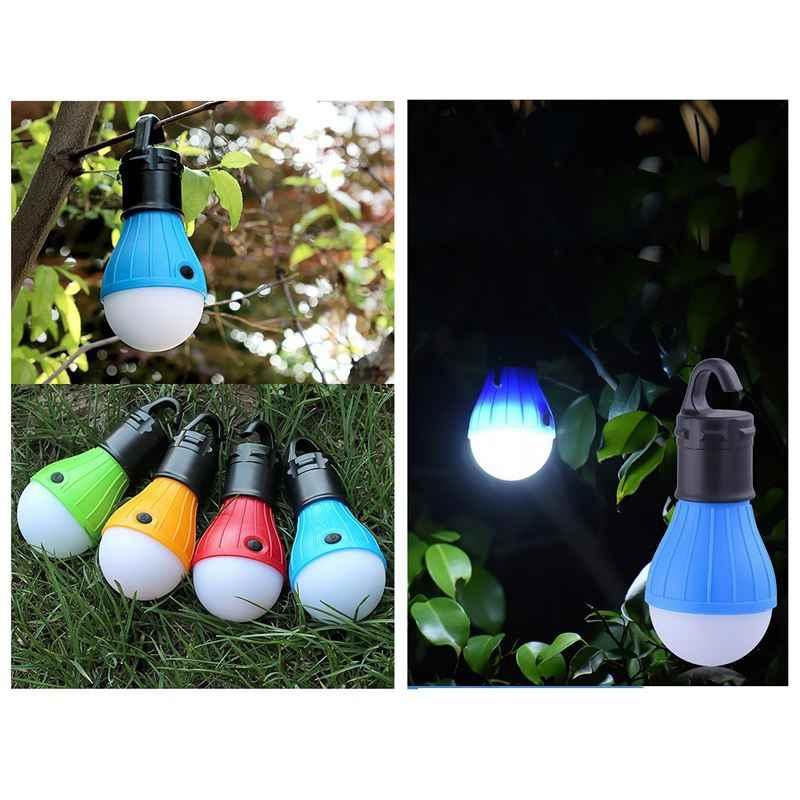 4 шт портативный светодиодный фонарь тент лампочка Батарея солнечные фонари для походов светодиодная лампа фонаря для путешествий походный Пеший Туризм