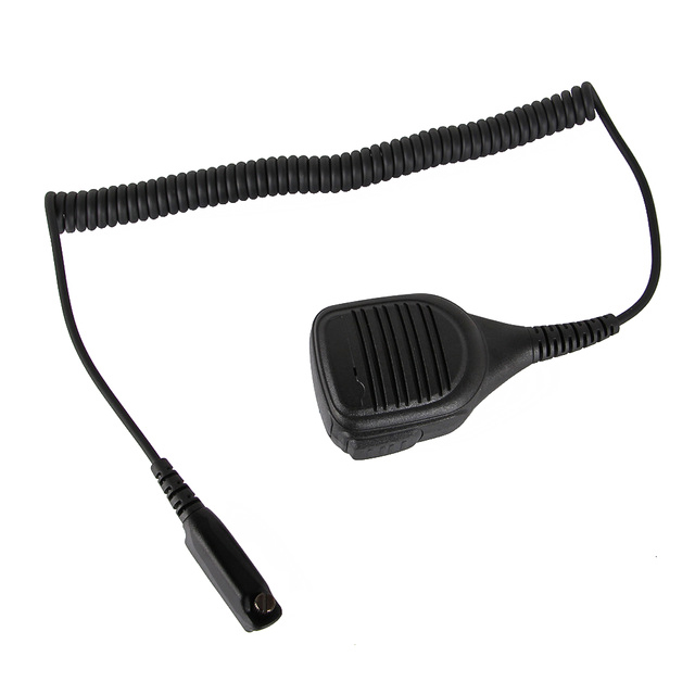 High Quality IP54 Waterproof Portable Loudspeaker Mic Microphone For Motorola Walkie Talkie STP9000 Two Way Radio Sepura STP8000(China)