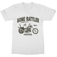 Gran oferta de camisetas de moda para hombre, camiseta con diseño de huesos y mimbre, camisetas Vintage con cuello redondo de verano