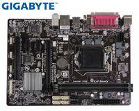 Оригинальная Материнская плата Gigabyte GA-B85M-D3V для intel DDR3 LGA 1150 16GB USB2.0 USB3.0 DVI VGA B85  используемая настольная материнская плата