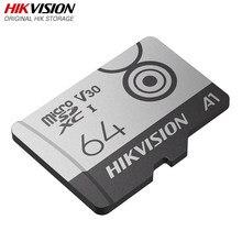 HIKVISION-tarjeta Micro SD HikStorage, 32G, Clase 10, SDXC, TF, 128GB, 64G, memoria máxima de 100 Mb/s, 4K, grabación para coche, DVR