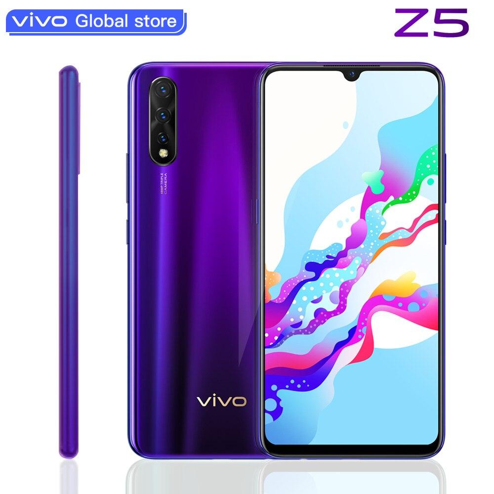 Фото. Vivo Z5 мобильный телефон 8G 128G Snapdragon712 4500mAh Cellular большой аккумулятор Супер AMOLED эк
