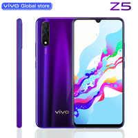 Vivo Z5 teléfono móvil 8G 128G Snapdragon712 4500mAh Batería grande súper AMOLED pantalla 48MP 32.0MP Cámara Triple Smartphone
